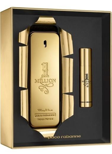 Paco Rabanne 1 Million Edt 100 Ml+Edt 10 Ml Erkek Parfüm Set Renksiz